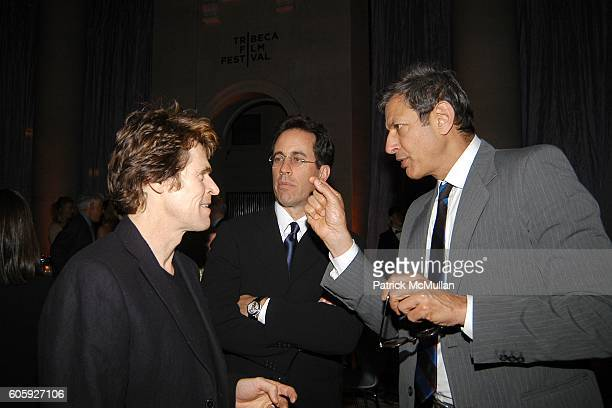 Willem Dafoe Jerry Seinfeld and Jeff Goldblum attend VANITY FAIR Tribeca Film Festival Party hosted by Graydon Carter and Robert DeNiro at The State...