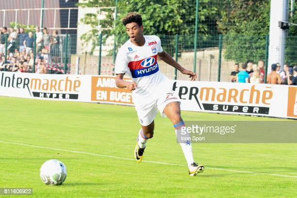 Willem Geubbels of Lyon during the friendly match between Olympique Lyonnais and BourgenBresse on July 8 2017 in Peronnas France