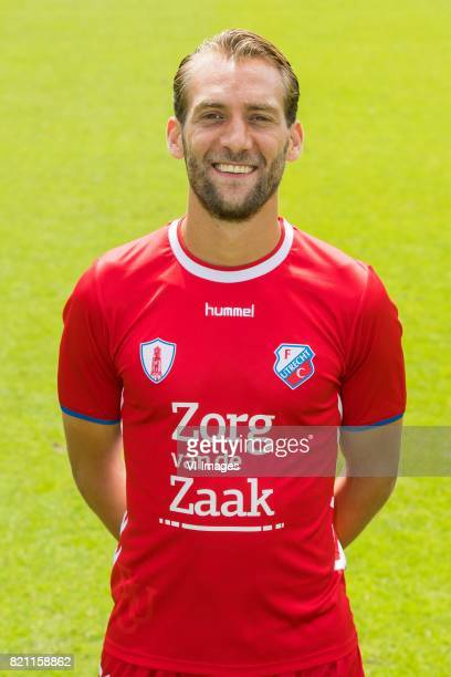 Willem Janssen during the team presentation of FC Utrecht on July 22 2017 at Sportcomplex Zoudenbalch in Utrecht The Netherlands