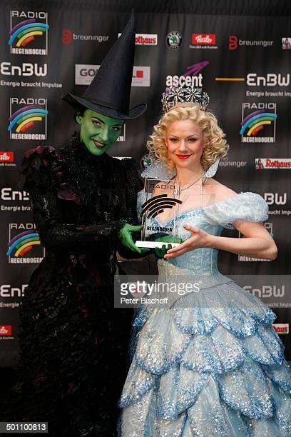 Willemijn Verkaik Lucy Scherer MusicalDarstellerin des Musicals 'Wicked Die Hexen von Oz' 11 'RadioRegenbogen'Award 'Schwarzwaldhalle' Karlsruhe...