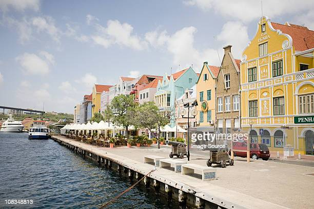 Willemstad harbor, Curacao, Antilles