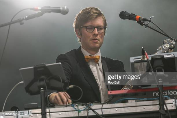 J Willgoose Esq from Public Service Broadcasting performs at Latitude Festival at Henham Park Estate on July 16 2017 in Southwold England