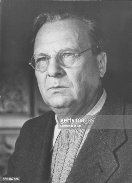 Willi Baumeister 1948 Porträt