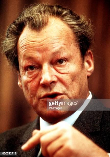 Willi Brandt the West German Chancellor