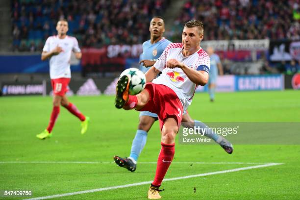 Willi Thomas Orban of Leipzig during the Uefa Champions League match between RB Leipzig and AS Monaco at Red Bull Arena on September 13 2017 in...