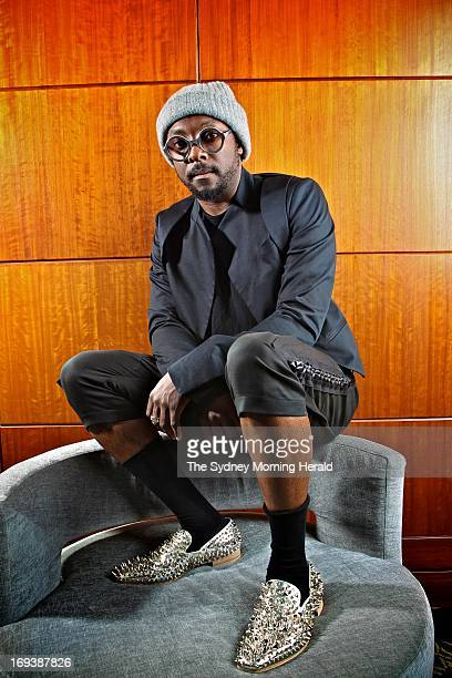 William Adams better known as william poses during a portrait session on May 6 2013 in Sydney Australia william is an American recording artist...