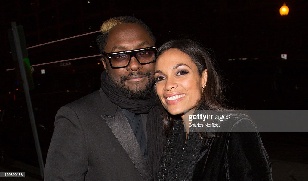 Will.i.am and <a gi-track='captionPersonalityLinkClicked' href=/galleries/search?phrase=Rosario+Dawson&family=editorial&specificpeople=201472 ng-click='$event.stopPropagation()'>Rosario Dawson</a> attend the Voto Latino 'Welcome To 1600 Part II' Inaugural Gala at Josephine on January 21, 2013 in Washington, DC.