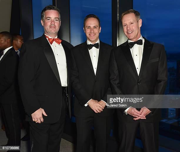 William Andrews David Bernard and Charles Urstadt attend Abstracted Black Tie Dinner Hosted by Pamela Joyner Fred Giuffrida and the Ogden Museum of...