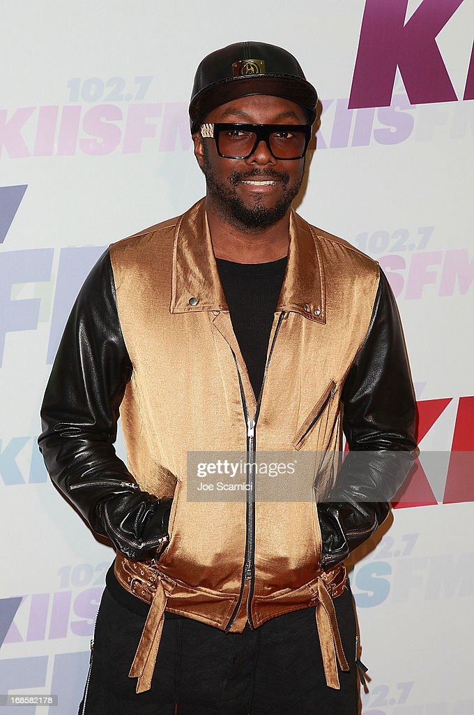 will.i.am arrives at 102.7 KIIS FM's Wango Tango 2013 at The Home Depot Center on May 11, 2013 in Carson, California.