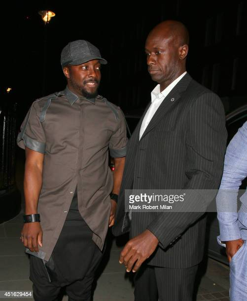 william at the Chiltern Firehouse on July 2 2014 in London England
