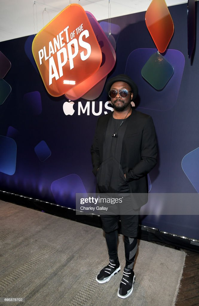 will.i.am attends Apple Music's Planet of the Apps Party at Soho House on June 12, 2017 in West Hollywood, California.