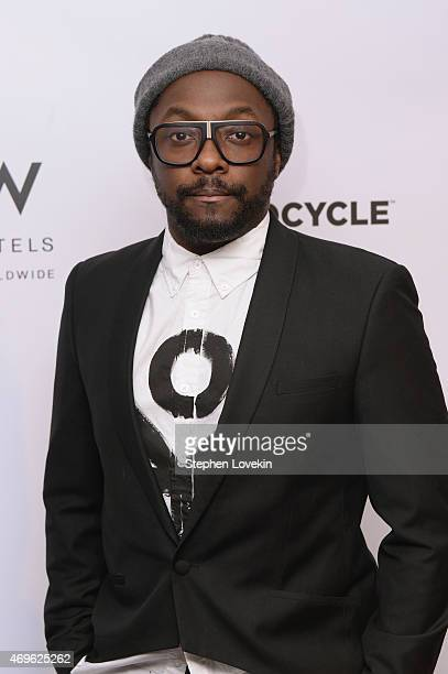 william attends as W Hotels william and EKOCYCLE announce a new partnership at W New York Launch Event on April 13 2015 in New York City