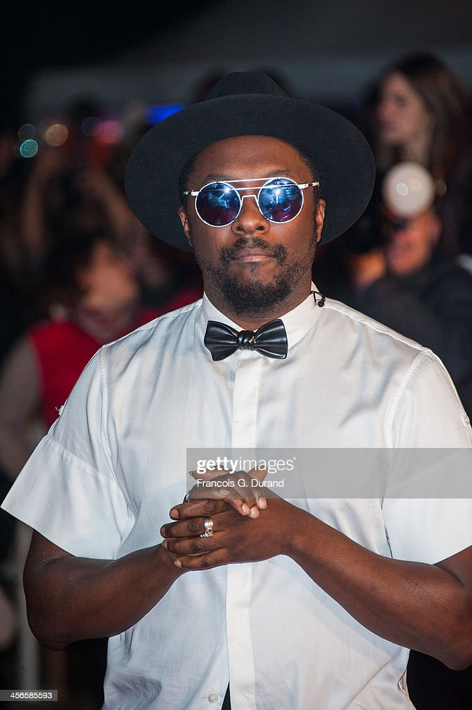 Will.i.am attends the 15th NRJ Music Awards at Palais des Festivals on December 14, 2013 in Cannes, France.