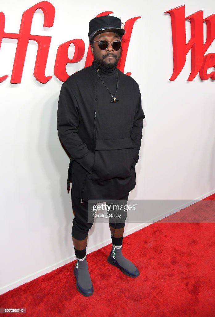 will.i.am attends the Westfield Century City Reopening Celebration on October 3, 2017 in Century City, California.