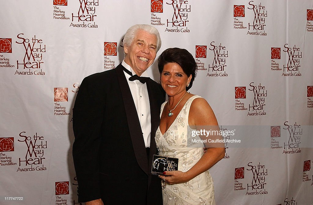 William Austin and his wife Tani Austin during 'So The World May Hear' Awards Gala All Access at Rivercentre in St Paul Minnesota United States