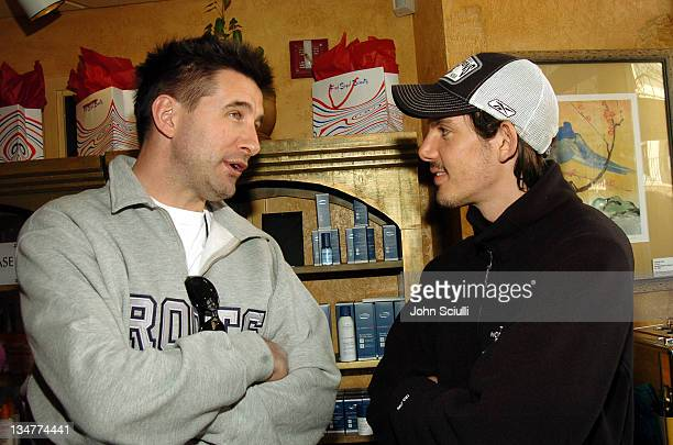 William Baldwin and Lukas Haas at Fred Segal during 2005 Park City Fred Segal Boutique at Village at the Lift at Village at the Lift in Park City...