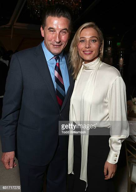 William Baldwin and Stefanie von Pfetten attend the Hallmark Channel And Hallmark Movies And Mysteries Winter 2017 TCA Press Tour at The Tournament...