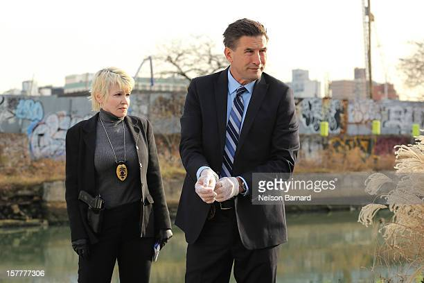 William Baldwin filming on location for the production of 'Blowtorch' on December 6 2012 in the Brooklyn burough New York City