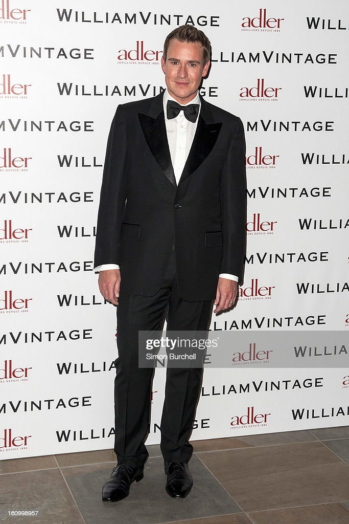 William Banks attends the WilliamVintage Dinner Sponsored By Adler at St Pancras Renaissance Hotel on February 8, 2013 in London, England.