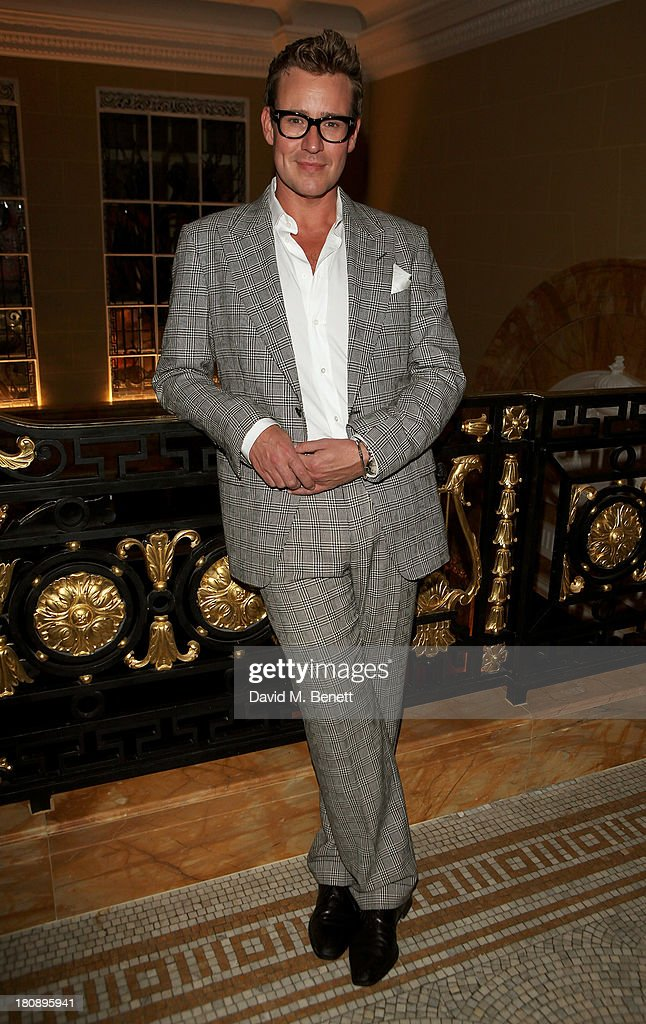 William Banks Blaney attends the Marie Claire 25th birthday celebration featuring Icons of Our Time in association with The Outnet at the Cafe Royal Hotel on September 17, 2013 in London, England.