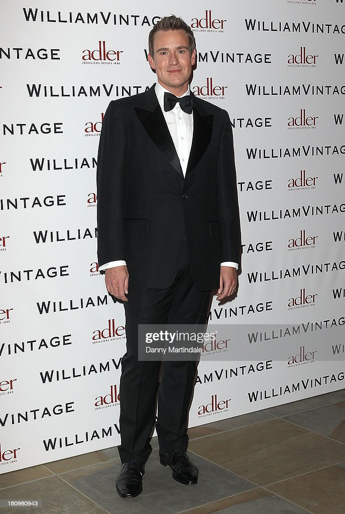 William Banks-Blaney attends the WilliamVintage Dinner Sponsored By Adler at St Pancras Renaissance Hotel on February 8, 2013 in London, England.