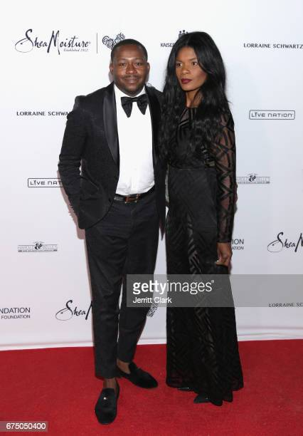 William Benson attends the Wearable Art Gala Arrivals at California African American Museum on April 29 2017 in Los Angeles California