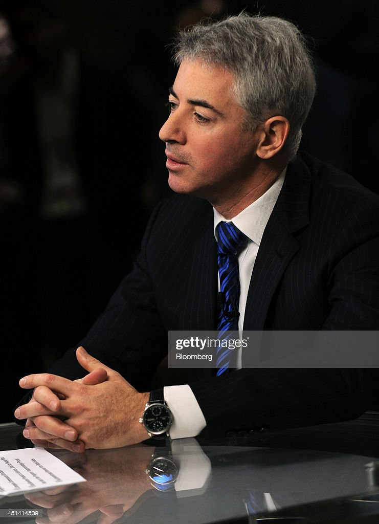 William 'Bill' Ackman, founder and chief executive officer of Pershing Square Capital Management LP, speaks during a television interview at the Robin Hood Investors Conference in New York, U.S., on Friday, Nov. 22, 2013. The activist investor said he will take his Herbalife Ltd. bet to the end of the earth even as losing as much as $500 million on the investment. Photographer: Peter Foley/Bloomberg via Getty Images