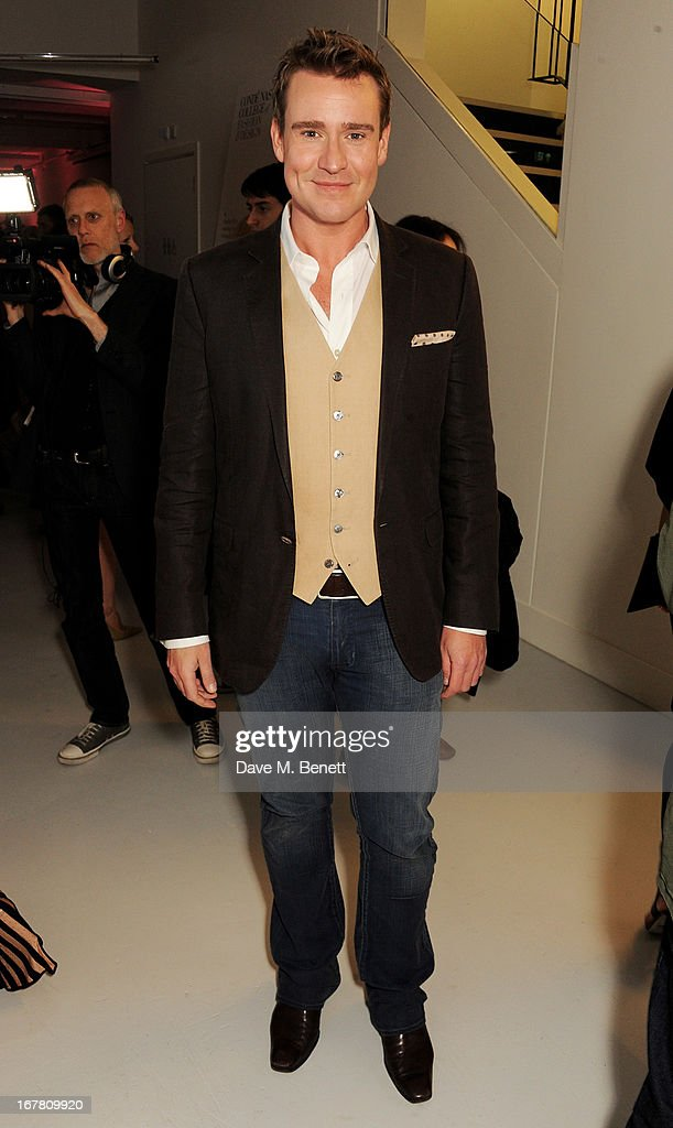 William Blanks Blaney attends the Conde Nast College of Fashion & Design opening party at 16/17 Greek Street on April 30, 2013 in London, England.
