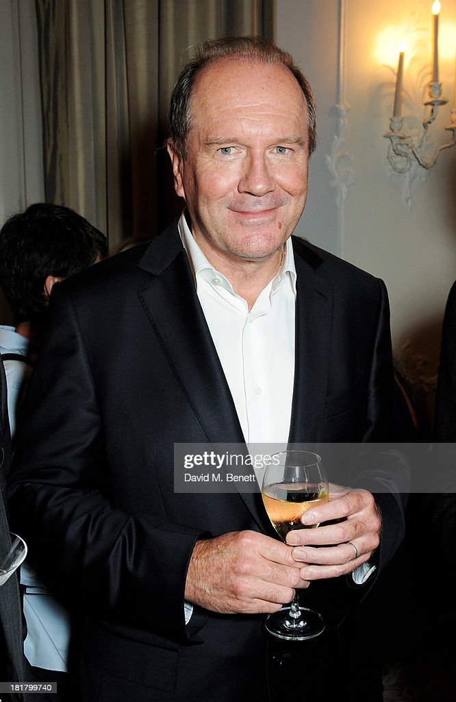 <a gi-track='captionPersonalityLinkClicked' href=/galleries/search?phrase=William+Boyd&family=editorial&specificpeople=94242 ng-click='$event.stopPropagation()'>William Boyd</a> attends the launch of 'Solo', the new James Bond novel written by <a gi-track='captionPersonalityLinkClicked' href=/galleries/search?phrase=William+Boyd&family=editorial&specificpeople=94242 ng-click='$event.stopPropagation()'>William Boyd</a>, at The Dorchester on September 25, 2013 in London, England.