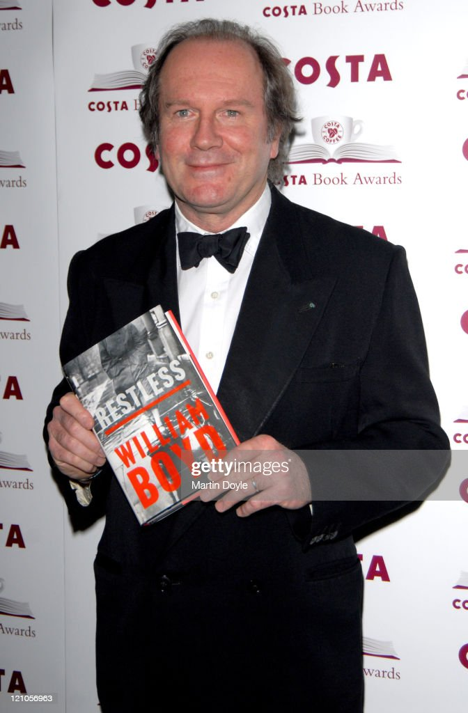<a gi-track='captionPersonalityLinkClicked' href=/galleries/search?phrase=William+Boyd&family=editorial&specificpeople=94242 ng-click='$event.stopPropagation()'>William Boyd</a> Author of 'Restless' during The Costa Book Of The Year Award 2006 at Grosvenor House Hotel in London, United Kingdom.