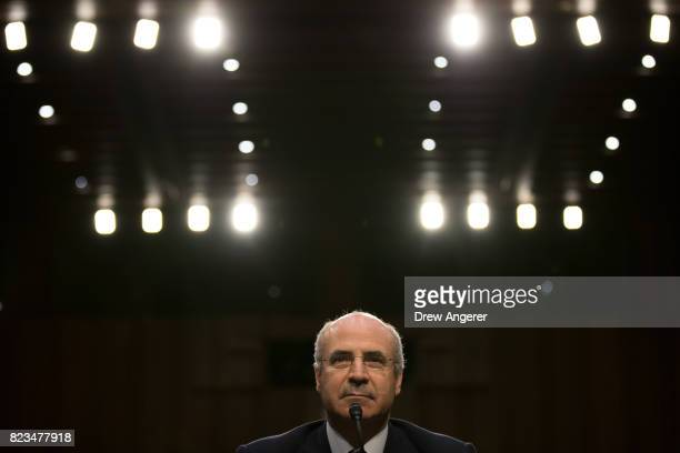 William Browder chief executive officer of Hermitage Capital Management testifies during a Senate Judiciary Committee hearing titled 'Oversight of...