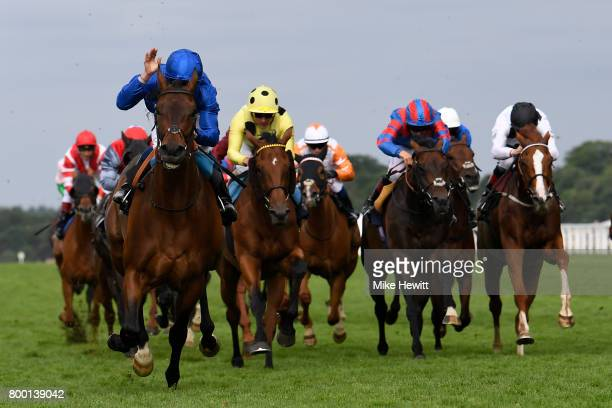 William Buick and Rare Rhythm wins the Duke of Edinburgh Stakes on Day Four of Royal Ascot at Ascot Racecourse on June 23 2017 in Ascot England