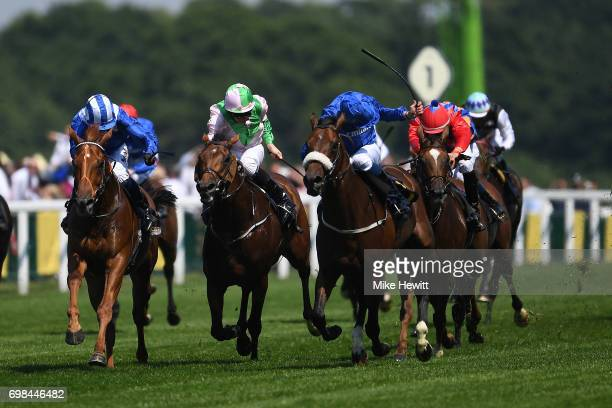 William Buick on Ribchester wins the Queen Anne Stakes on the opening day of Royal Ascot at Ascot Racecourse on June 20 2017 in Ascot England
