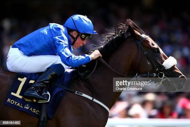 William Buick rides Ribchester to win The Queen Anne Stakes during day 1 of Royal Ascot at Ascot Racecourse on June 20 2017 in Ascot England