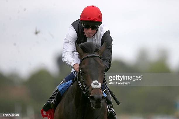 William Buick riding Golden Horn win The Betfred Dante Stakes at York racecourse on May 14 2015 in York England