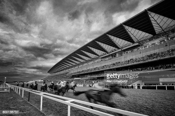 William Buick riding Rare Rhythm win The Duke of Edinburgh Stakes on day 4 of Royal Ascot at Ascot Racecourse on June 23 2017 in Ascot England