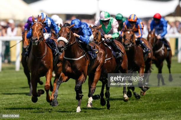 William Buick riding Ribchester win The Queen Anne Stakes on day 1 of Royal Ascot at Ascot Racecourse on June 20 2017 in Ascot England