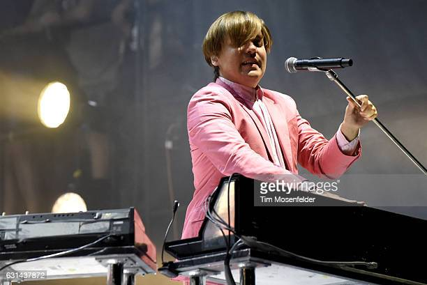 William Butler of Arcade Fire performs during the Voodoo Music Arts Experience at City Park on October 30 2016 in New Orleans Louisiana