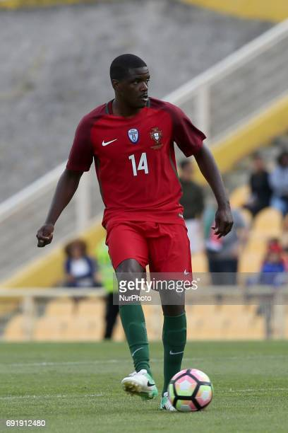 William Carvalho in action during the friendly football match Portugal vs Cyprus at Antonio Coimbra da Mota Stadium in Estoril outskirts of Lisbon...