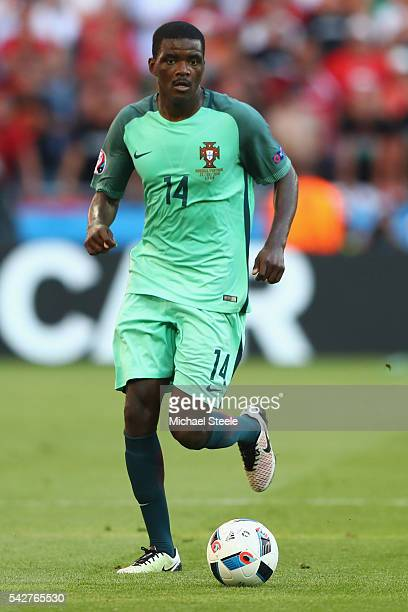 William Carvalho of Portugal during the UEFA EURO 2016 Group F match between Hungary and Portugal at Stade des Lumieres on June 22 2016 in Lyon France