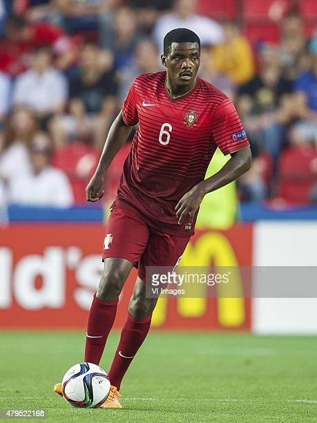 William Carvalho of Portugal during the UEFA European Under21 Championship final match between Sweden and Portugal on June 30 2015 at the Eden...
