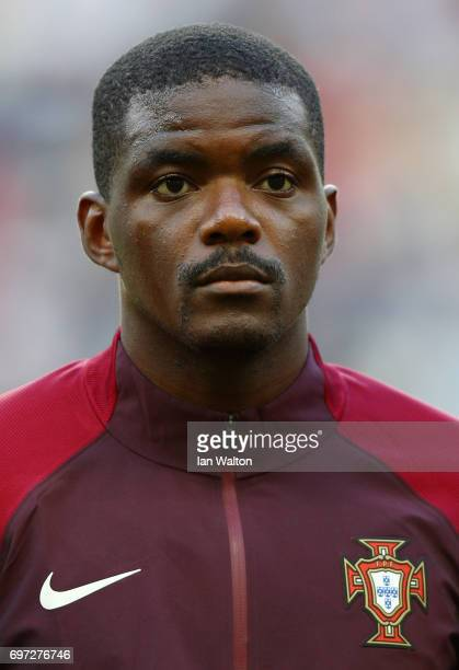 William Carvalho of Portugal looks on prior to the FIFA Confederations Cup Russia 2017 Group A match between Portugal and Mexico at Kazan Arena on...