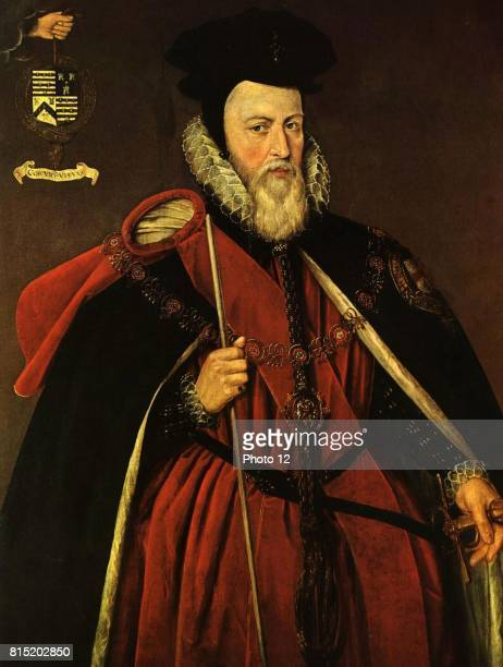 William Cecil 1st Baron Burghley appointed Secretary of State by Elizabeth I in 1558 and was the prominent English statesman of his age Cecil in the...