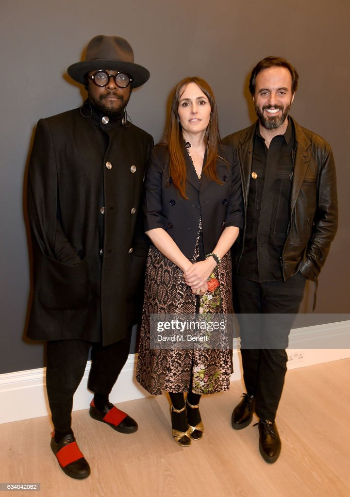 The BFC Fashion Trust Host A Talk With will.i.am And Farfetch CEO Jose Neves