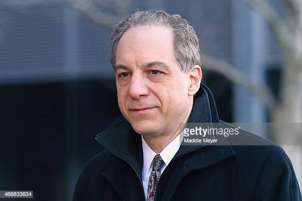 William D Weinreb lead prosecutor in the case against Boston bombing suspect Dzhokar Tsarnaev enters the John Joseph Moakley United States Courthouse...