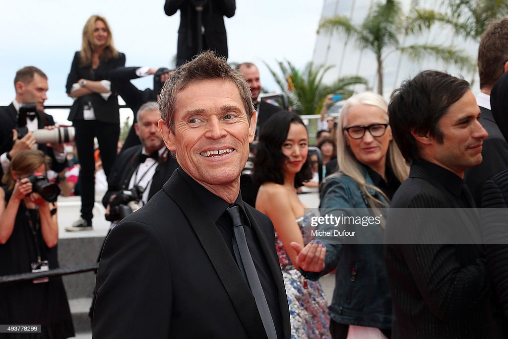 William Dafoe attends the red carpet for the Palme D'Or winners at the 67th Annual Cannes Film Festival on May 25, 2014 in Cannes, France.