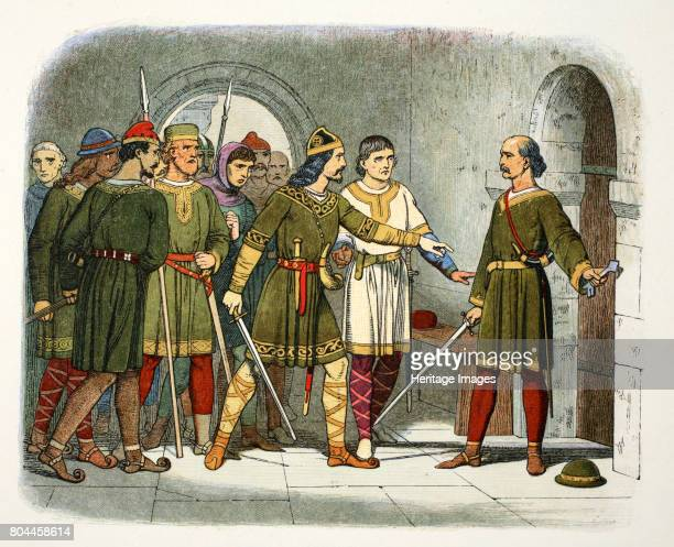 William de Breteuil defends the treasury Winchester Hampshire 1100 William was the eldest son of William Fitzosbern first Earl of Hereford He is seen...