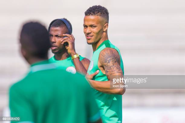 William Ekong of Nigeria during the soccer friendly match between Nigeria and Togo on June 1 2017 in St LeulaForet France