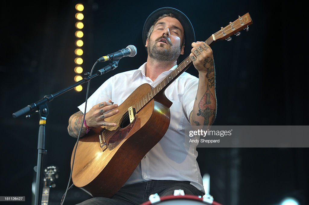 William Elliott Whitmore performs on stage during End Of The Road Festival 2012 at Larmer Tree Gardens on September 1, 2012 in Salisbury, United Kingdom.