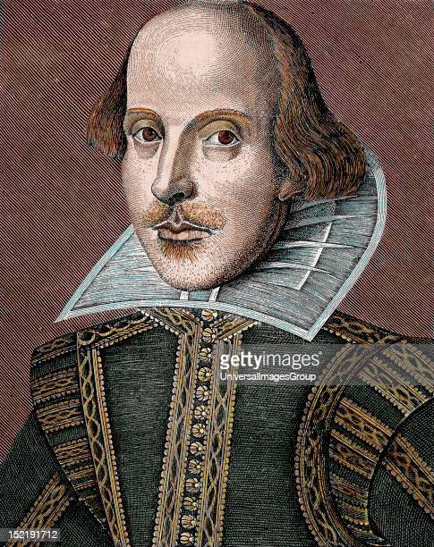 SHAKESPEARE William English writer The nineteenth century colored engraving